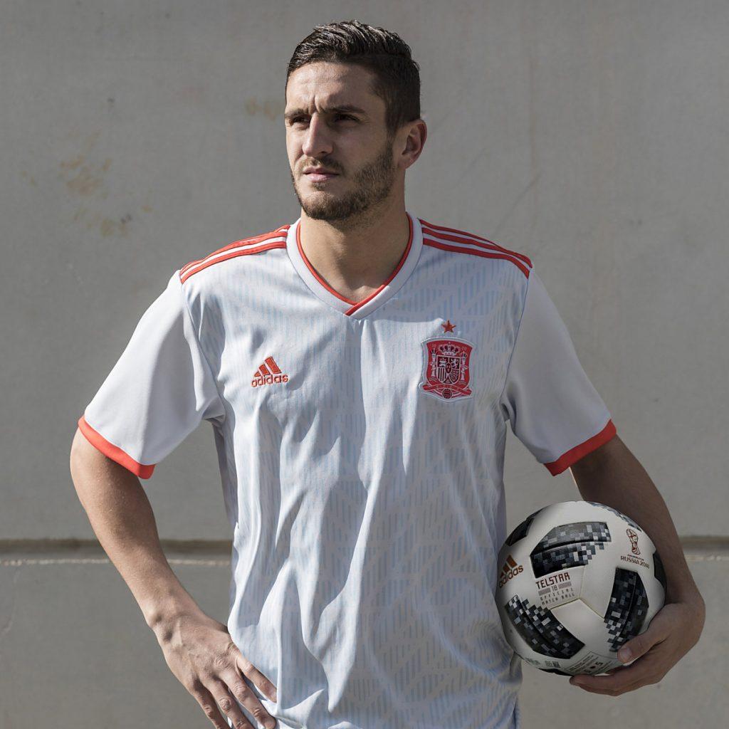 Das neue Spanien Away Trikot 2018